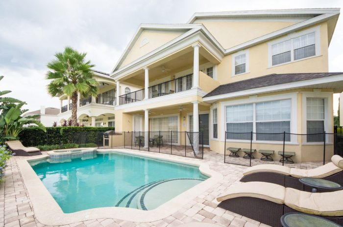 Reunion vacation rental with pool