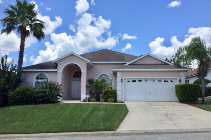 Orlando vacation rental home EVH1027WR - exterior