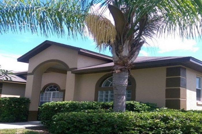 Exterior view of Orlando Vacation Rental Home 925
