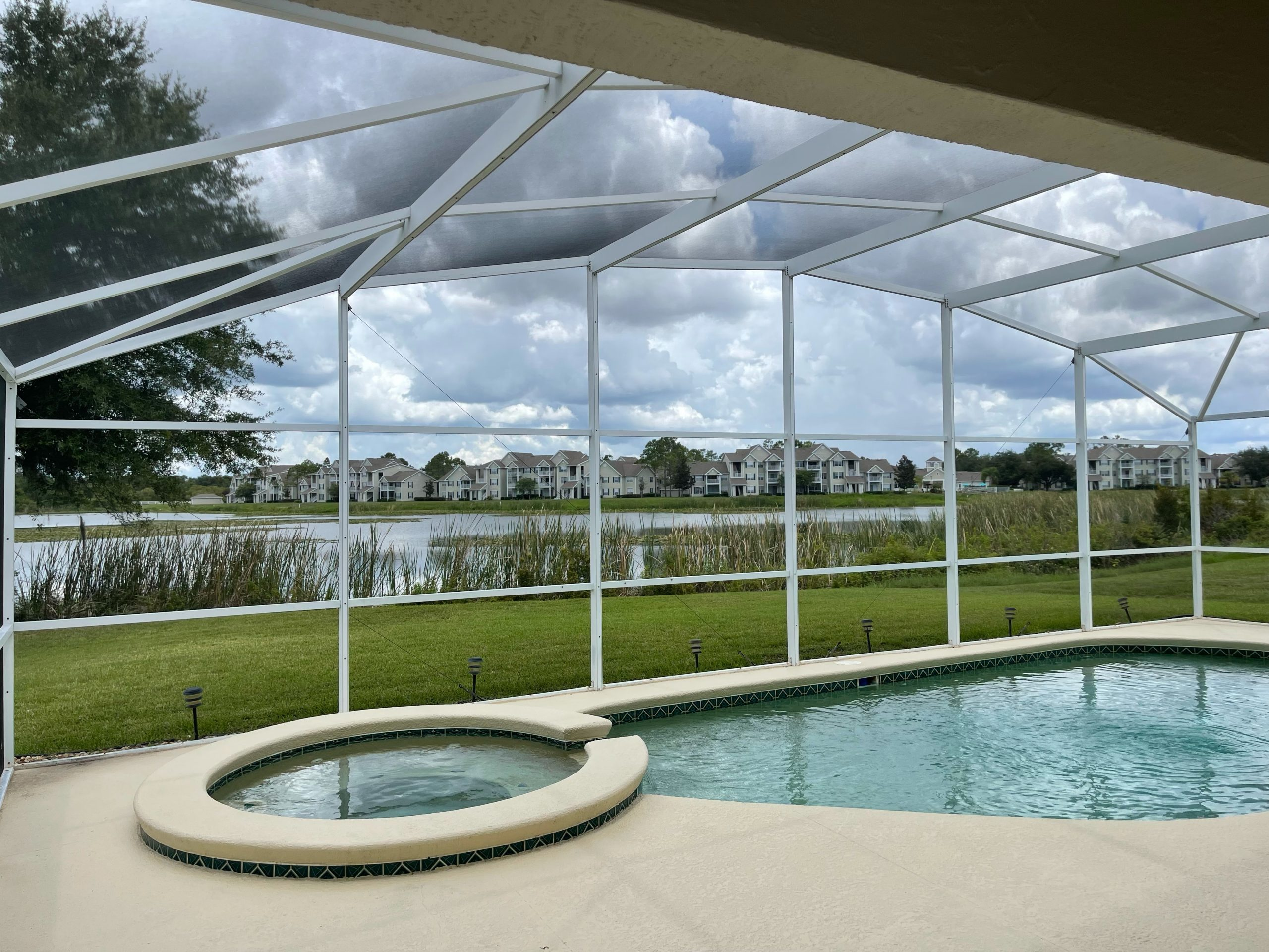 pool and spa orlando vacation rental home